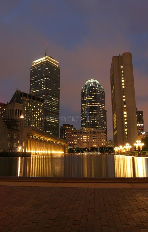boston prudential στοκ εικόνες