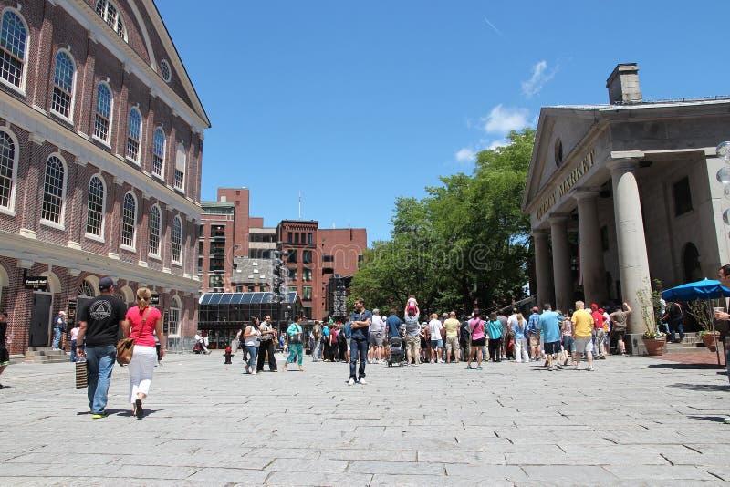 Boston Quincy rynek zdjęcia royalty free