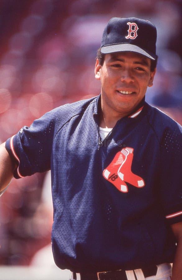 Carlos Quintana. Boston Red Sox 1B Carlos Quintana. Image taken from a color slide stock photo