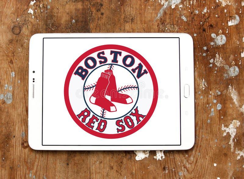 Boston red sox baseball team logo stock photography