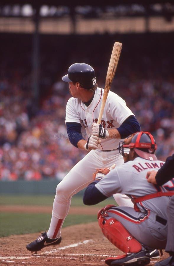 Boston Red Sox legendy brodzenie Boggs obrazy royalty free