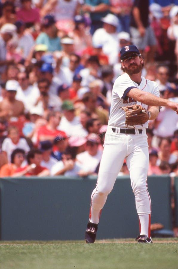 Boston Red Sox legendy brodzenie Boggs obraz stock