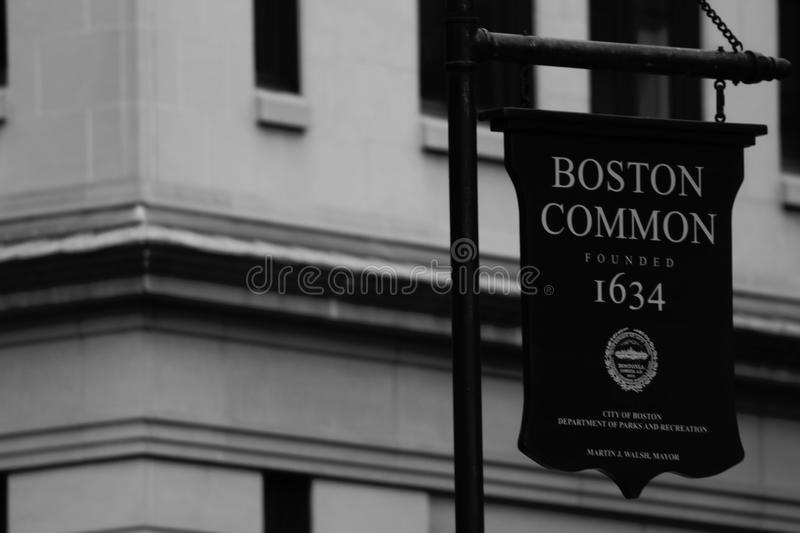 Boston. `s architecture is quite fascinating royalty free stock images
