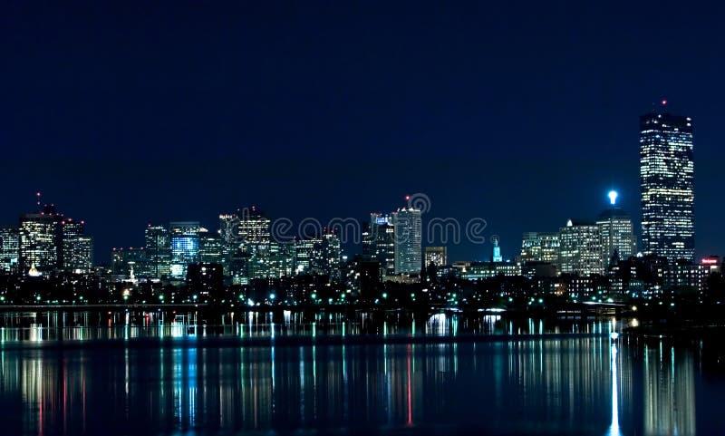 Boston Skyline 1. Boston Skyline royalty free stock photos