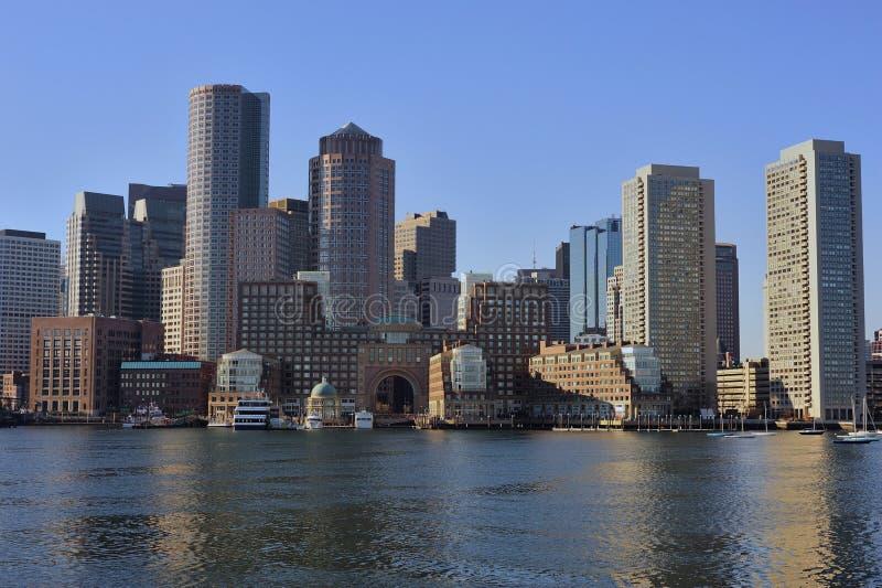 Download Boston skyline stock image. Image of crossing, align - 17705745