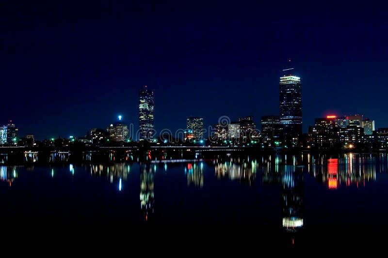Boston-Skyline 2 lizenzfreie stockfotografie