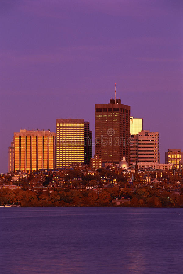 Download Boston skyline editorial stock photo. Image of photograph - 23161478