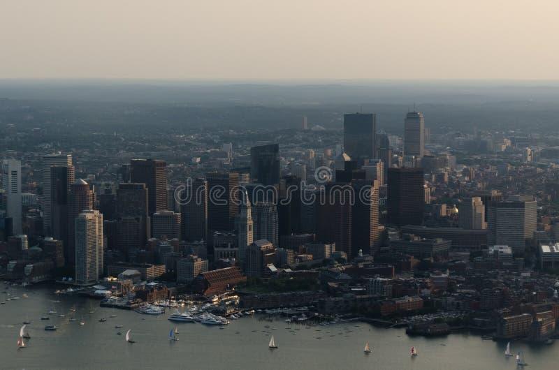Boston-Skyline stockfotos