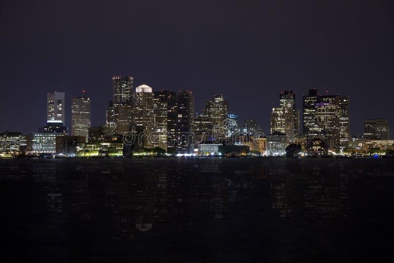 Boston-Skyline 9 stockbilder
