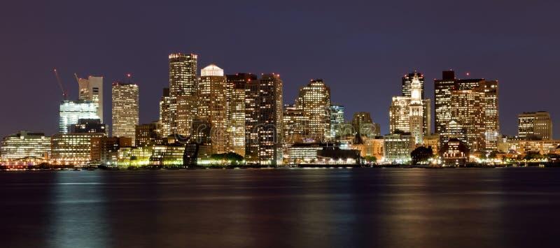 Boston-Skyline, Massachusetts, USA lizenzfreies stockbild