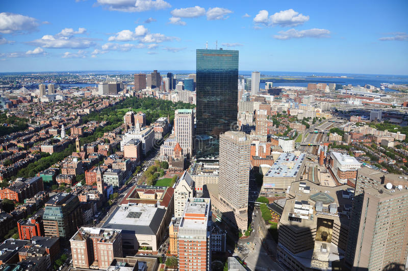 Boston-Skyline, Massachusetts, USA stockfotografie