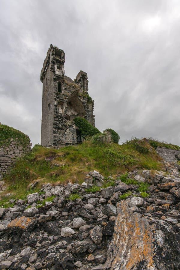 Boston slott i Irland royaltyfria foton