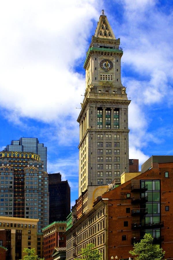Boston storica che encompasing il mercato di quincy immagine stock libera da diritti