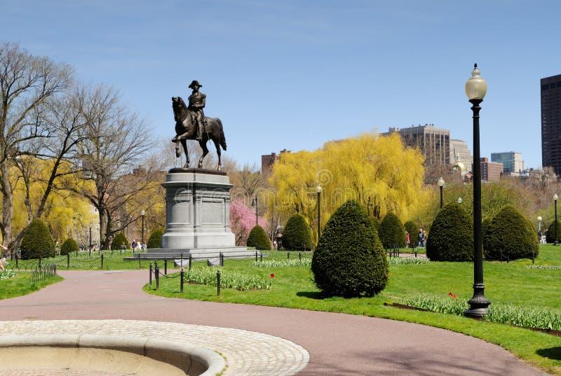 boston trädgårds- allmänhet royaltyfri foto