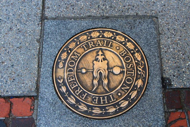 Boston - traînée de liberté photos libres de droits