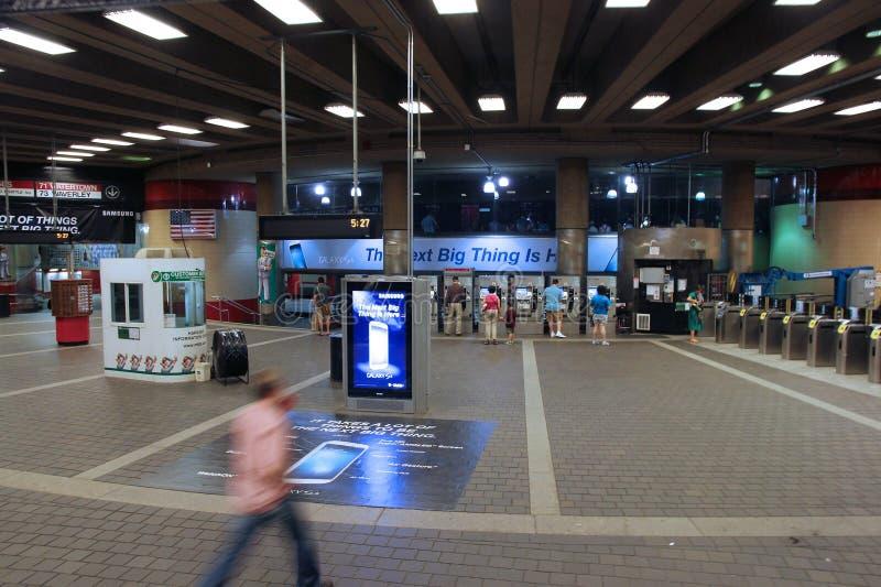 Boston-U-Bahnstation lizenzfreie stockfotografie