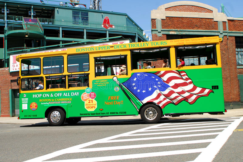 Download Boston Upper Deck Trolley Tours Bus Editorial Stock Photo - Image: 20467653
