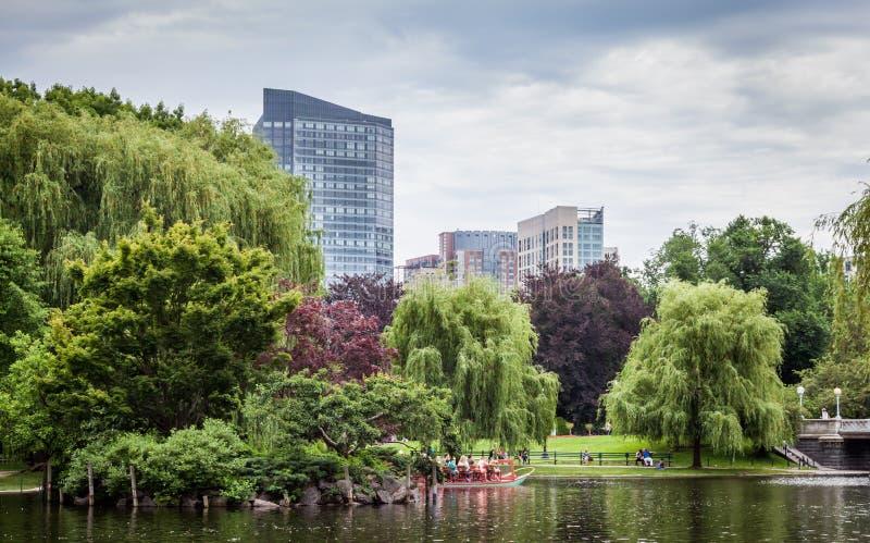 Boston van de binnenstad van het Lagerhuis van Boston royalty-vrije stock foto