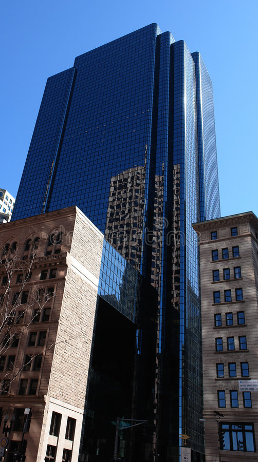 Boston van de binnenstad VII stock afbeelding