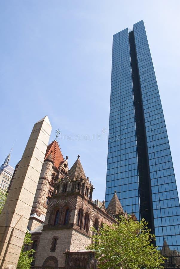 Boston vecchia e nuova immagini stock