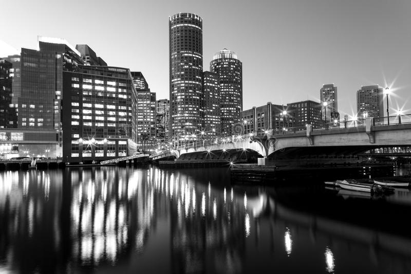 Boston w Massachusetts obraz royalty free