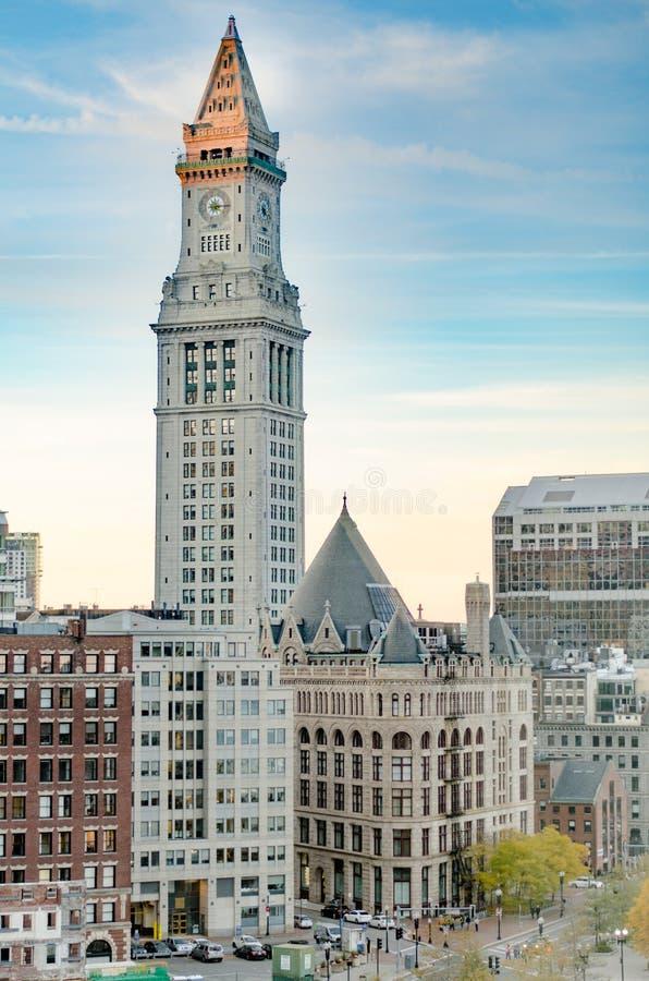Boston-Zollamt-Turm stockfoto