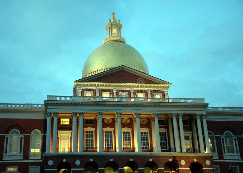 BostonStatehouse stockbild