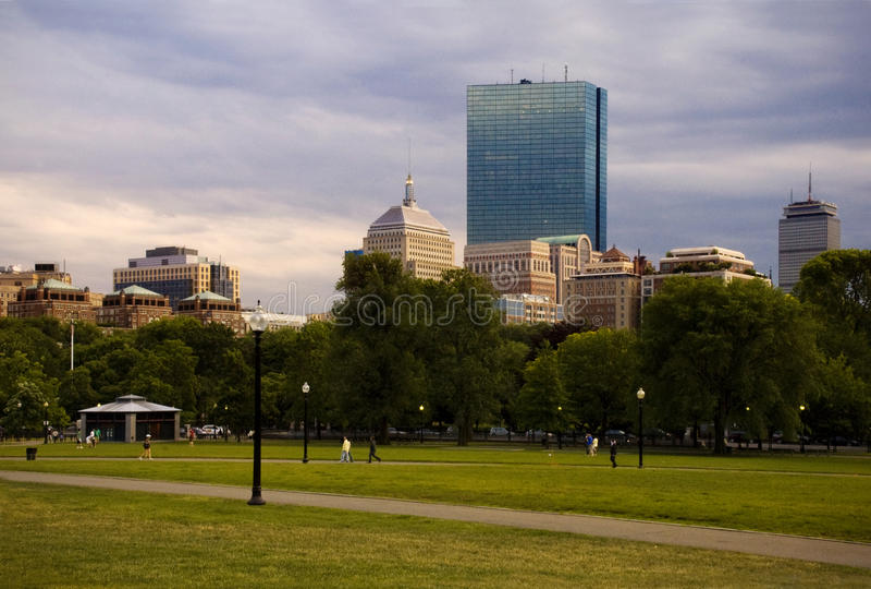 bostonu błonie obrazy royalty free