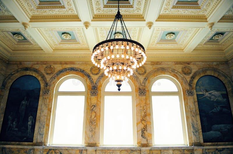bostonu biblioteki społeczeństwo zdjęcia royalty free