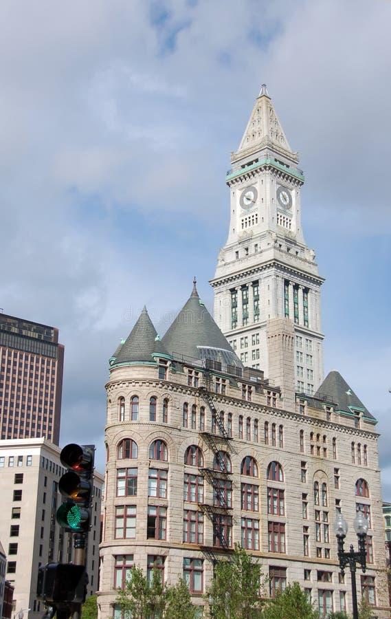 bostonu dom zegarowy obyczajowy obraz royalty free