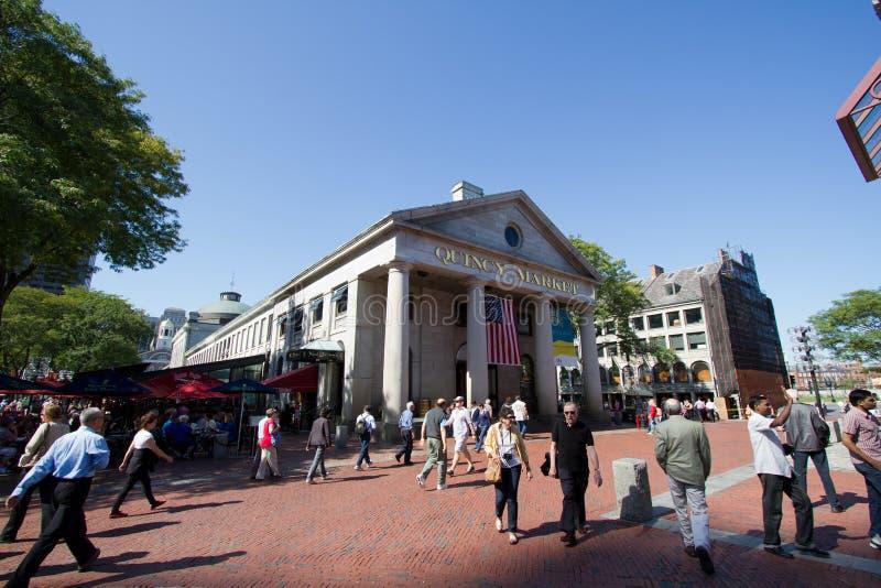 bostonu dzień rynek Quincy zdjęcia stock