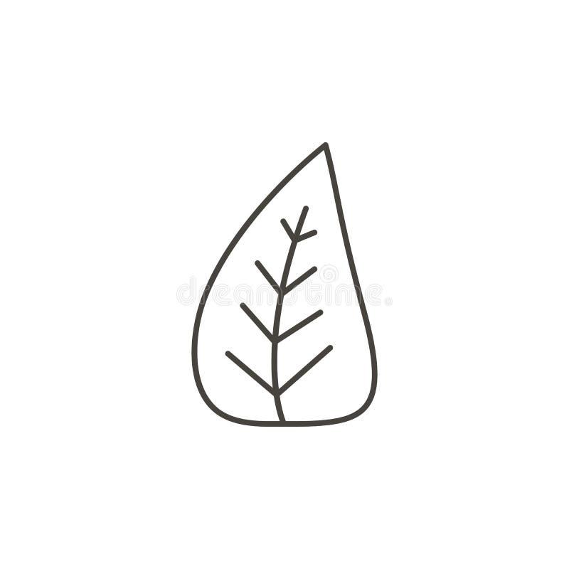 Botânico, ícone da floresta - vetor r Botânico, ícone da floresta - vetor Conceito org?nico ilustração do vetor