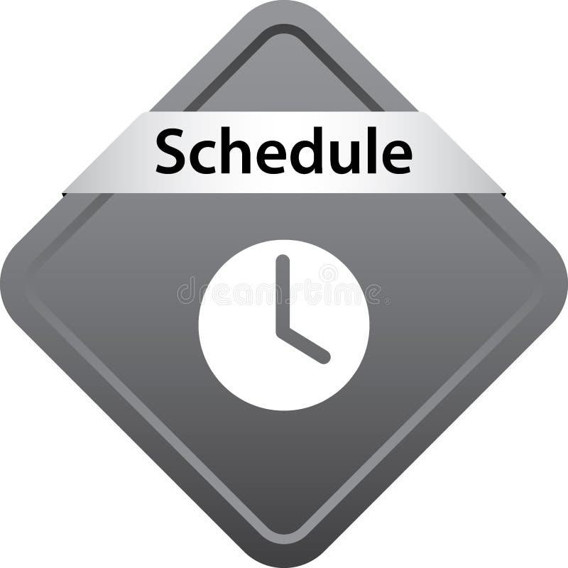 Botão da Web do ícone da programação ilustração do vetor