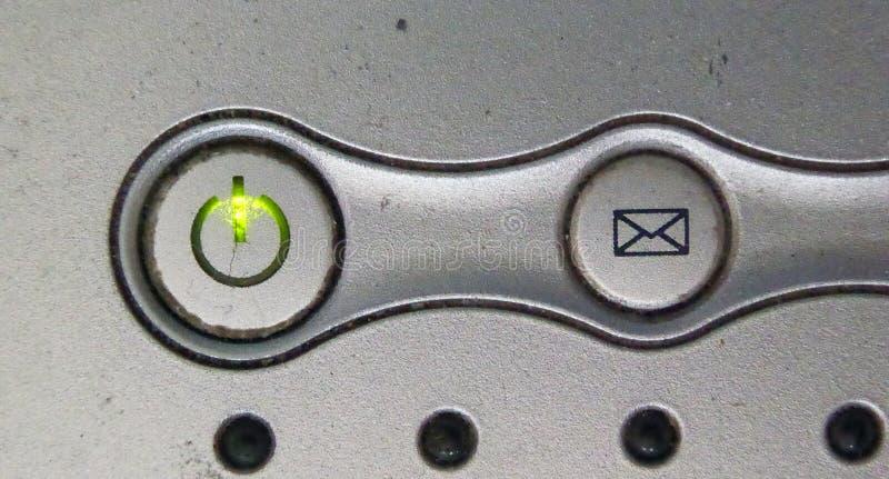 Botão de interruptor (de ligar/desligar) fotos de stock royalty free