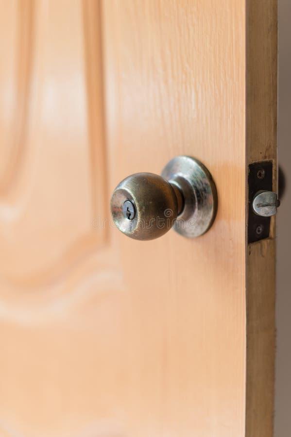 Botão de porta, concepção da segurança imagem de stock