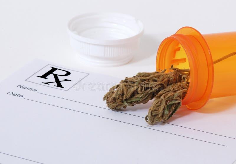Botão do cannabis fotografia de stock royalty free