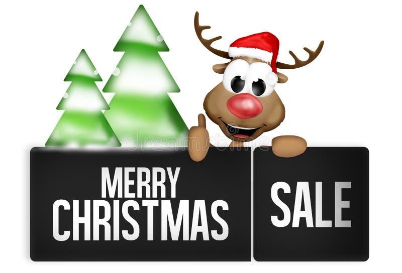 Botão do Natal ilustração do vetor