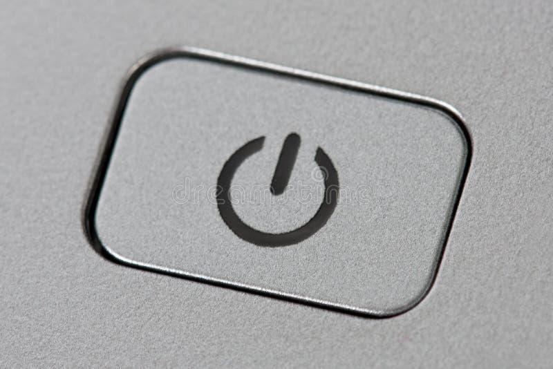 Botão do poder imagens de stock