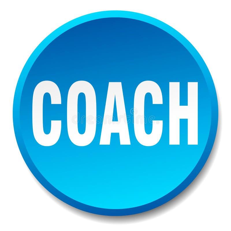 botão do treinador ilustração stock