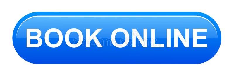 botão em linha do livro ilustração royalty free
