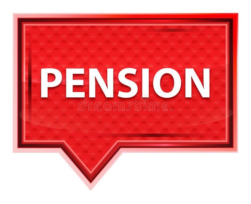 Botão enevoado da bandeira do rosa de rosa da pensão ilustração stock