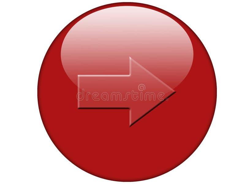 Botón 003 stock de ilustración