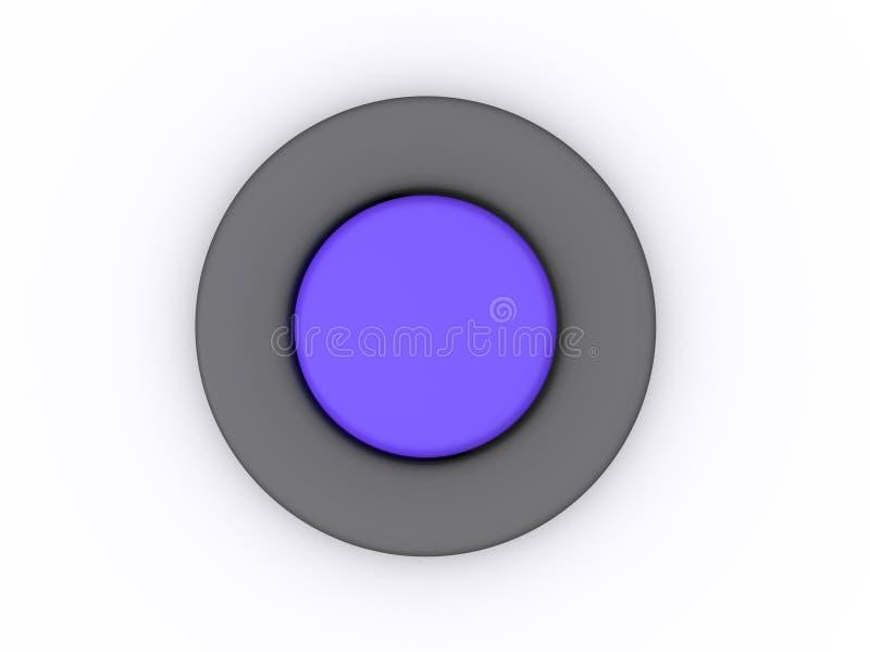 Botón stock de ilustración