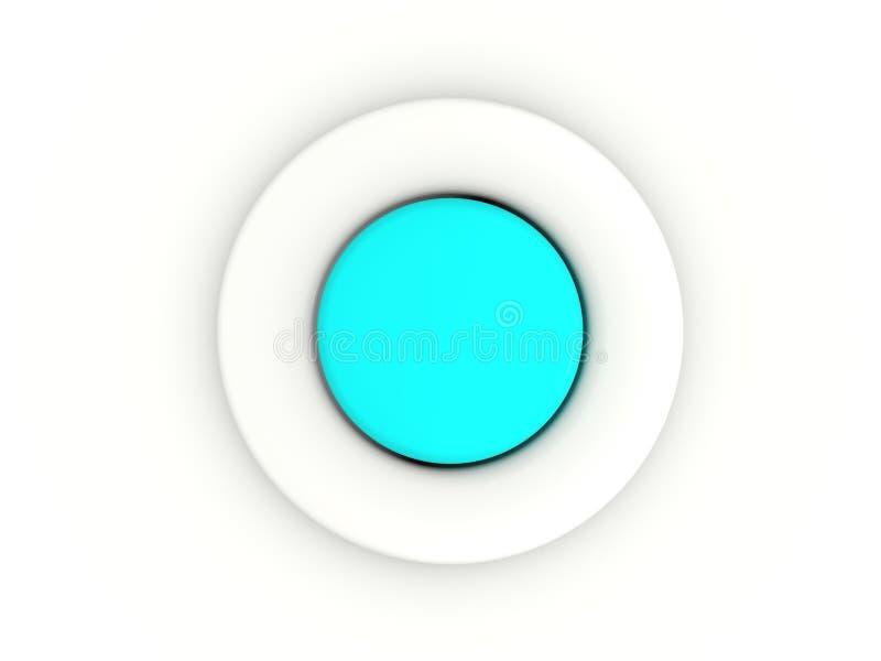 Botón ilustración del vector