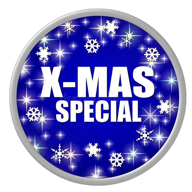Download Botón Azul Del Special De Navidad Stock de ilustración - Ilustración de dimensional, snowflake: 7278816