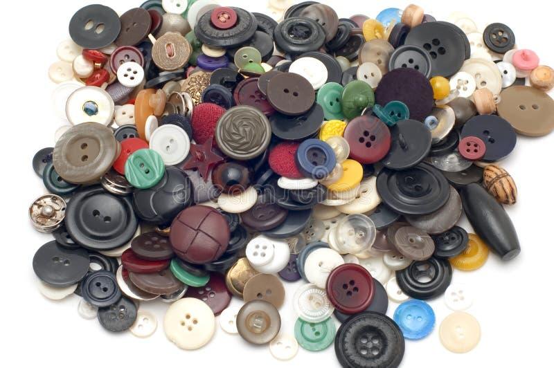 Botón coloreado fotografía de archivo