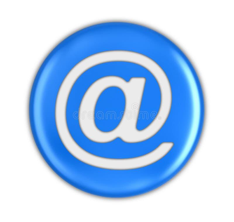 Botón con la muestra del email stock de ilustración