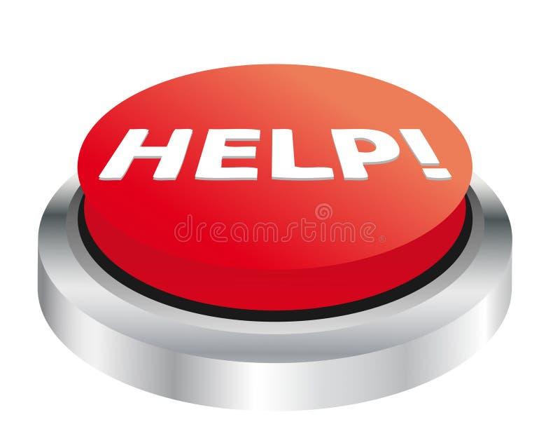 Botón de la ayuda libre illustration