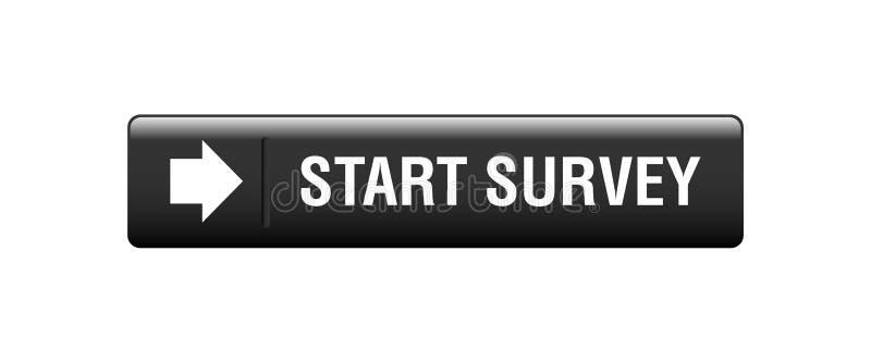 botón de la encuesta stock de ilustración