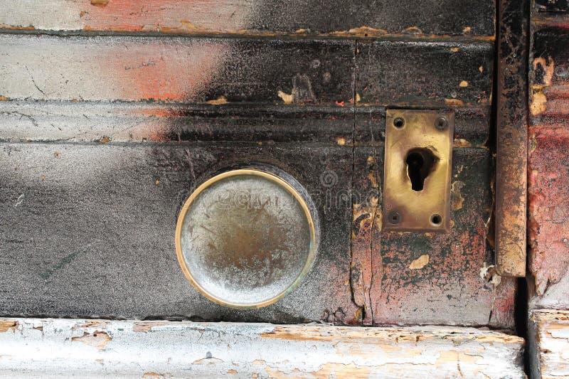 Botón de puerta fotos de archivo